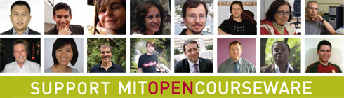 Support MIT OpenCourseWare.